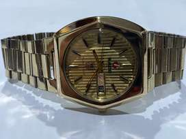 VINTAGE 1970's RADO MUSKETEER X AUTOMATIC MENS WATCH,GOLD FILLED,