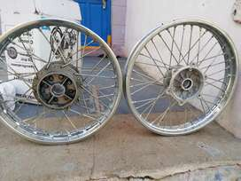 Royal enfield wheel rims