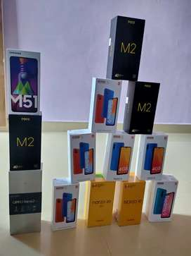 All mobiles available with sealed pack & brand new with 1 year warrant