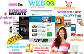 Web designer/website design/mobile app/logo/hosting/Banner/web maker