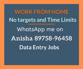 No targets & time limits. Work from home and earn monthly 30,000/-