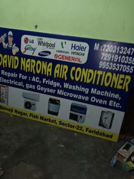 Air conditioners and Refrigerators service