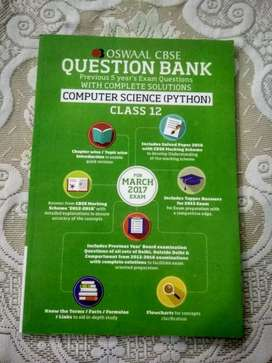 Oswaal - CBSE Question Bank - Class 12 - Python (50% OFF)
