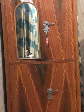 My cupboard with wooden design