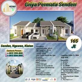 Rumah Baru Dalam Komplek Perumahan Nyaman Hunian di Kota Klaten