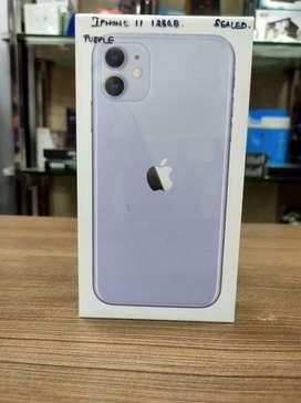 Sealed iPhone 11 128gb purple 1 year pre active Apple warranty