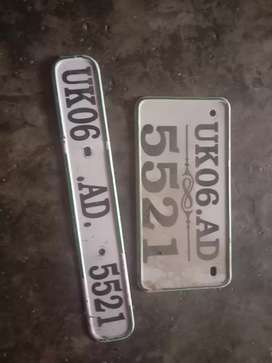 No.plate good condition