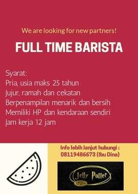 Barista full time