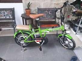 Dijual Cepat sepeda listrik merk Mr.Jackie