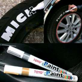 100% ORIGINAL spidol ban poles toyo tahan air