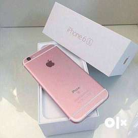 iPhone 6s with warranty and all asseseries