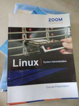 Zoom Linux System Administration books(4 nos.)