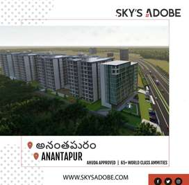 luxury in budget at anantapur 2 & 3Bhk flats for sale