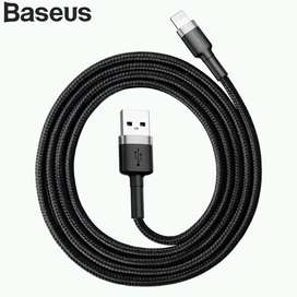 Baseus  Kabel Data Iphone Cafule Cable For Lightning 2.4a 1m