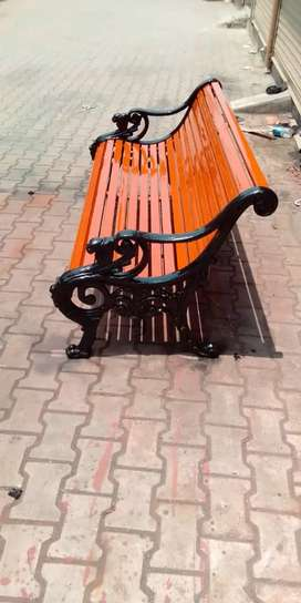 Cast Iron Bench For garden