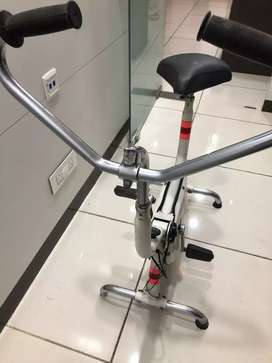 Static exercise cycle