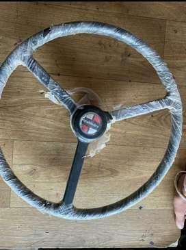 3 spoke steering wheel mahindra