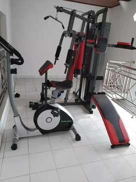 Dijual home gym seperti baru