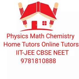 Chemistry Home Tutor +1 +2 JEE Mains Advance  NEET CBSE