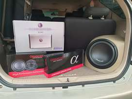Paket Audio SQ | Subwoofer gramond | speaker gramond | power venom |
