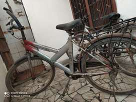 Bicycle with lock