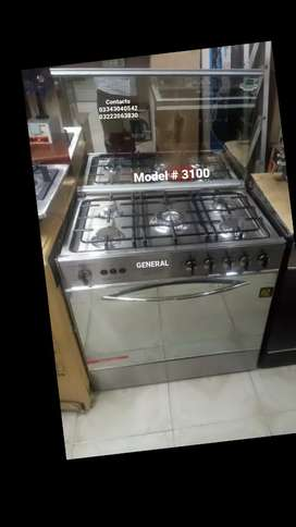 5&3 stove burners cooking range oven grill rotisserie backing