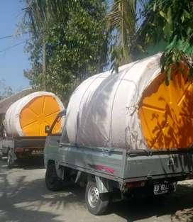 Tandon air 3000 liter sragen toren bahan plastik HDPE