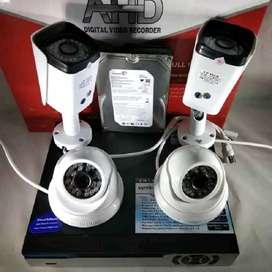 Jual dan pasang kamera cctv 2mp full hd bisa konek android