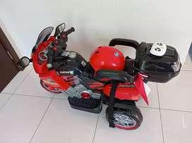 Mainan Anak Motor Aki Remote Control Volta Samurai 5021 SHP TOYS Happy