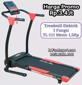 TL-111 Treadmill Elektrik Harga Super Murah