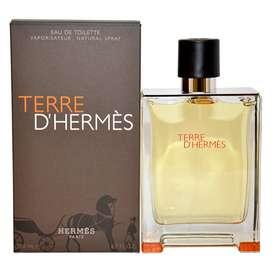 TERRE D HERMES AUTHENTIC 1000% TESTER BOX , MONEYBACKGUARANTEE!