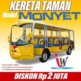 Jual kereta mini wisata mesin cary ful spek promo BT