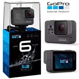 Brand new GoPro Hero 6 Black - 1 year GoPro Warranty