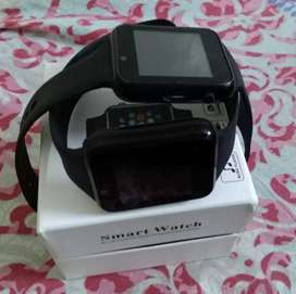 A1 two Smart watches in black colour like new