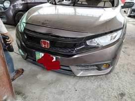Front Bumper & Head Lights- honda Civic 2017 for Sale