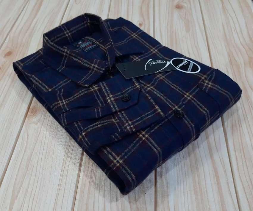 Kemeja Flannel Classic Original (Real Pict) 0