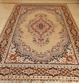 Center piece afghani carpet available.