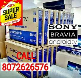"""New SONY 32""""INCH SMART 4K* ANDROID LED TV*BUY SOON@SALE ALL INCHES"""