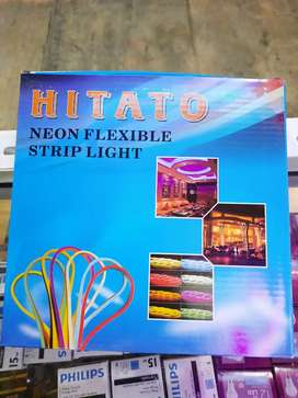 Lampu neon flexi 12v 5meter
