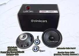 • Paket Audio wofer cello port 5 +  2way aulux