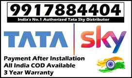 Tata Sky DTH -Payment After Installation- All India COD Tatasky Dishtv