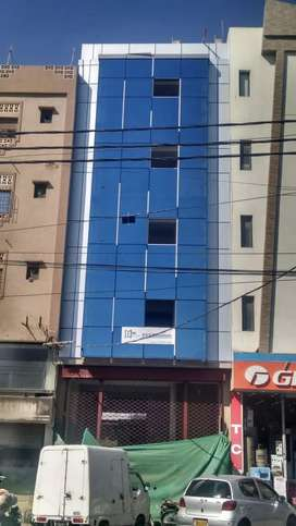 Brand New Office building available in Badar Commercial DHA Ph 5