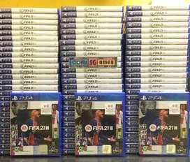 PS4 FIFA 21 FIFA21 New Segel