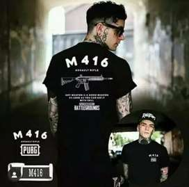 Stuffaddict T-shirt PUBG M416