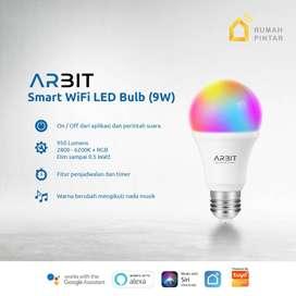 ARBIT Smart Home Wifi LED Bulb 9W RGBWWCW Original Murah NO COD