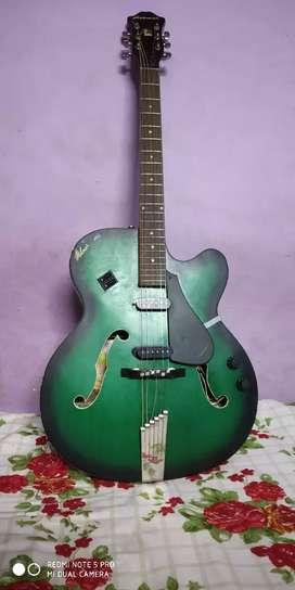 Hobmer 285 export semi acoustic guitar