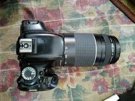 I am selling my canon D600 DSLr camera with 75.300mm lense