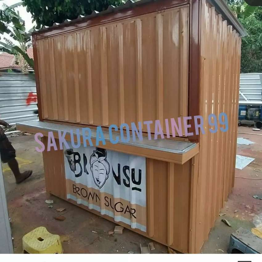 Container minuman/box container/booth container/container coffee shop 0