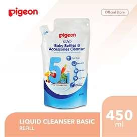 PIGEON LIQUID CLEANSER BASIC 450ML SABUN CUCI BOTOL - REFILL