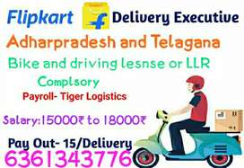We are hiring from delivery executive in elur